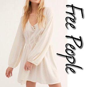 Free People Papya Mini Dress NWT L